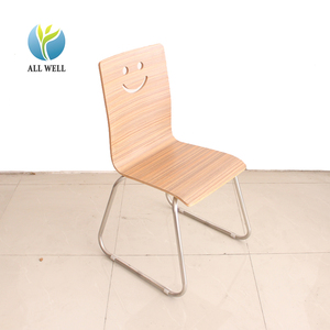 School canteen bend plywood chairs