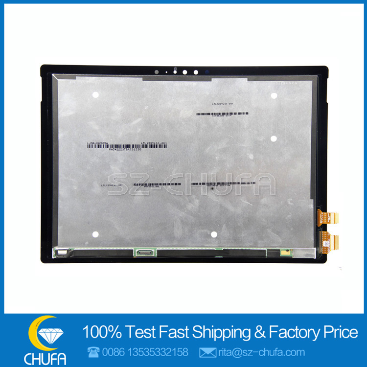 New Brand For Microsoft Surface Pro 4 1724 LTN123YL01-001 v1.0 lcd touch screen digitizer replacement assembly display screen