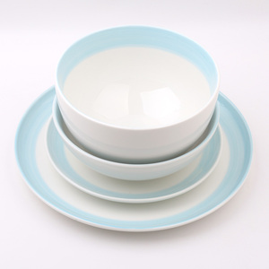 Wholesale JC Grace Design Colorful Mexican Ceramic Porcelain Table Dinner Ware Dinnerware Sets