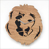 Animal MDF wooden clock special design wall clock