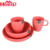 BPA free plastic stackable party supplies dinner set