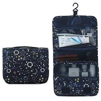 Hanging Toiletry Bag-Travel Organizer Cosmetic Make up Bag case for Women Men's cosmetics bag with Hanging Hook for vacation
