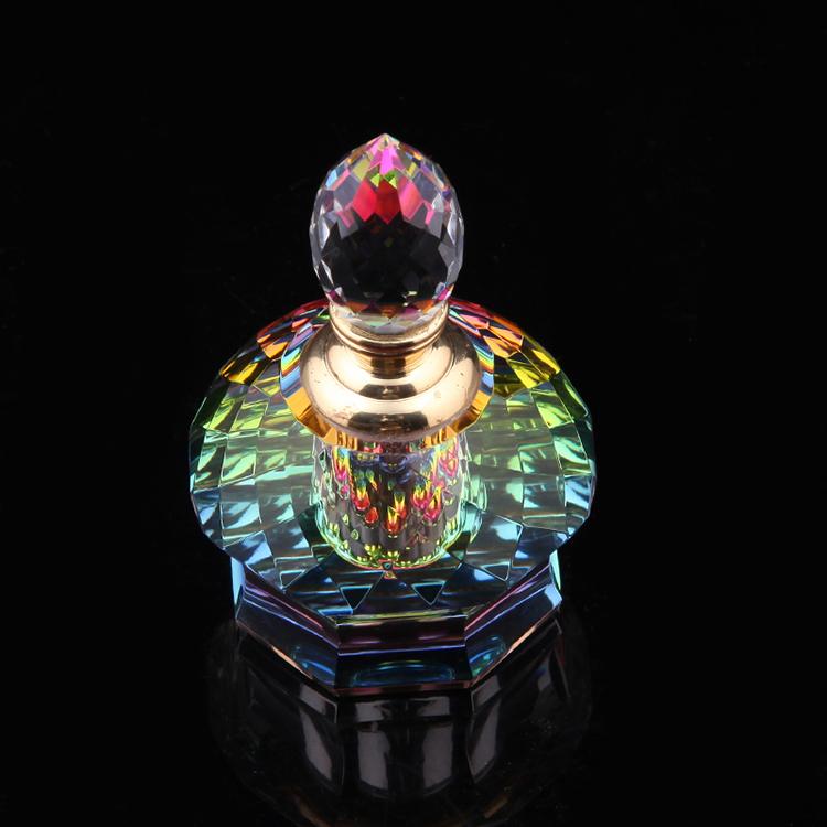 Customizable color OEM k9 crystal perfume bottle