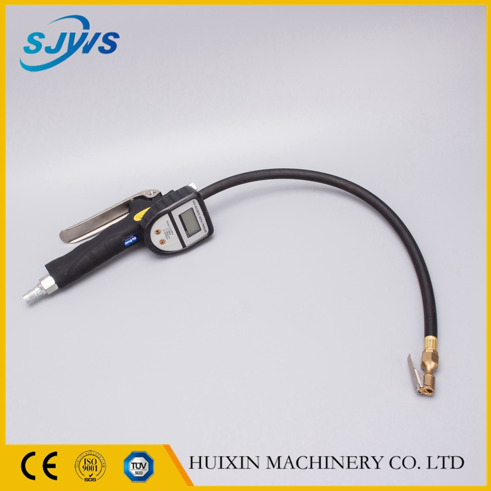 high quality digital air inflation gun with copper gas nozzle