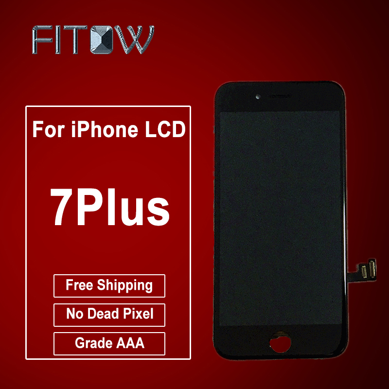 Touch screen phone 6 months warranty Wholesale for <strong>iphone</strong> 7 Plus lcd display lcd screen replacement 6 lcd display