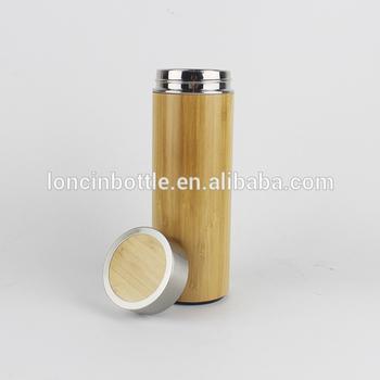 Conjunto De 2 Design Japonês Bambu Ecológico Copos Canecas De Viagem Com Tampas
