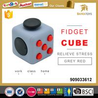 2017 cube fidget toy marble
