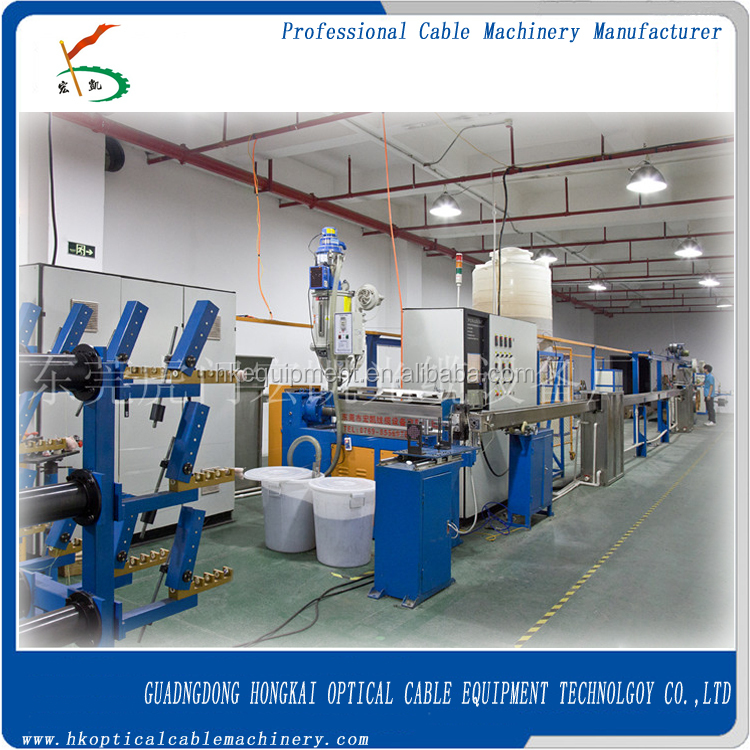 premises cable extrusion line/fiber optic cable machine