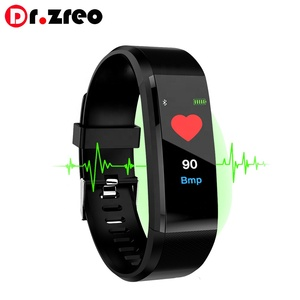 115plus Smart Band Waterproof Blood Pressure Color OLED display Smart Bracelet Band Wristband Fitness Tracker Heart Rate Monitor