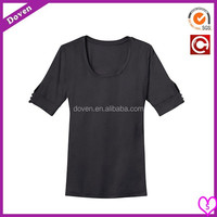 Cotton/Spandex lady sport t-shirts