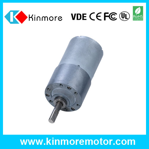24 volt 6mm diameter shaft micro geared dc motor on hot selling