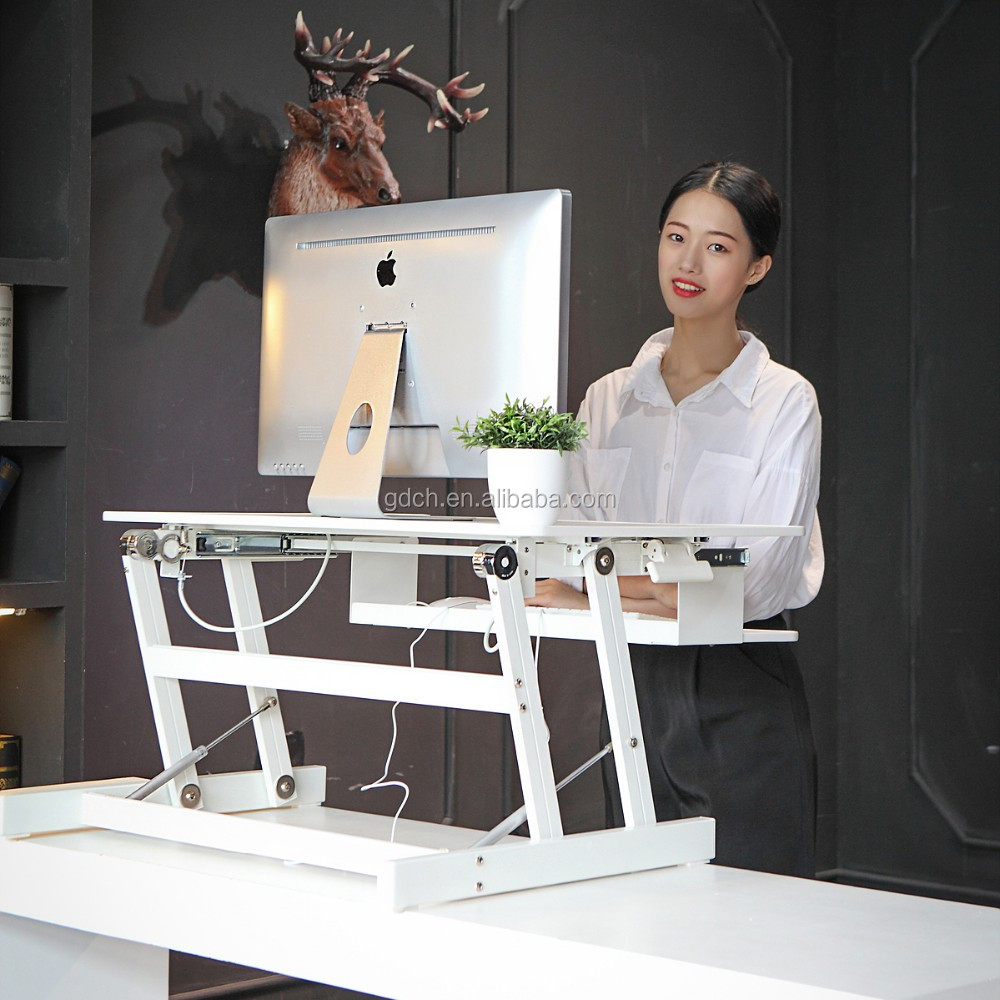 Sit-Stand adjustable desk