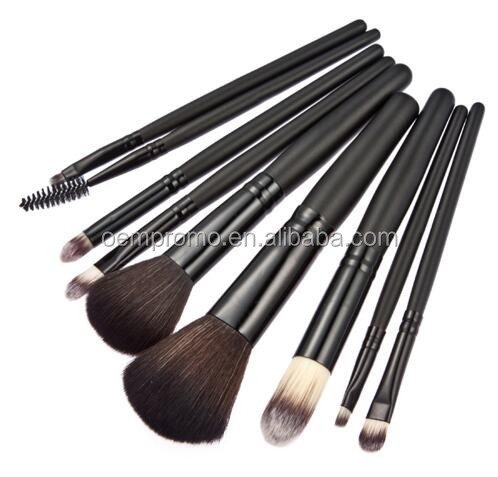 Wholesale 9pcs Cosmetic Makeup Brush Kit