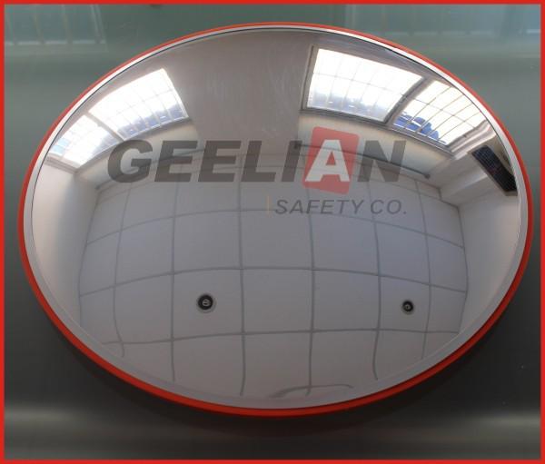 60cm parabolic indoor convex security mirror buy convex for Miroir 5 bandes