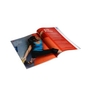 China cheap eco friendly full color printing fashion magazine