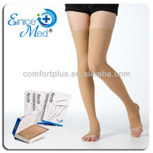 health medical thigh high Open toe Compression stockings