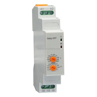 12-240VAC/DC Delay OFF time relay
