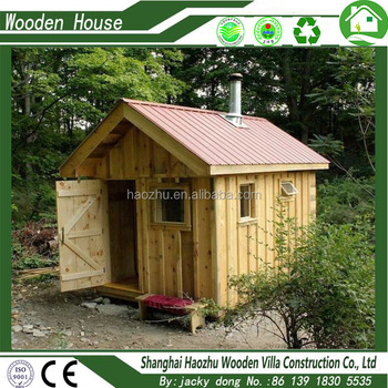 Prefab Log Cabin Wooden House India Price