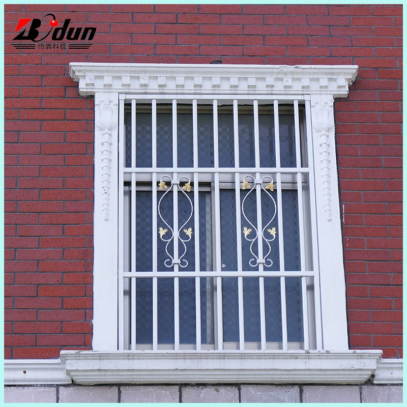 Simple Iron Grill Marble Window And Door Frame Design