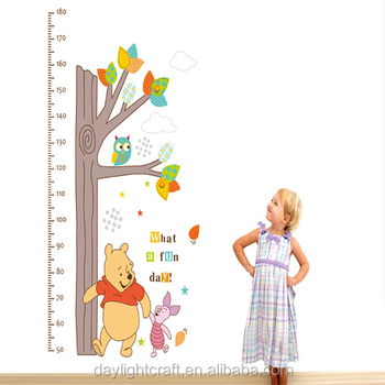 Removable Kids Height Growth Chart Wall Stickerheight Chart Wall