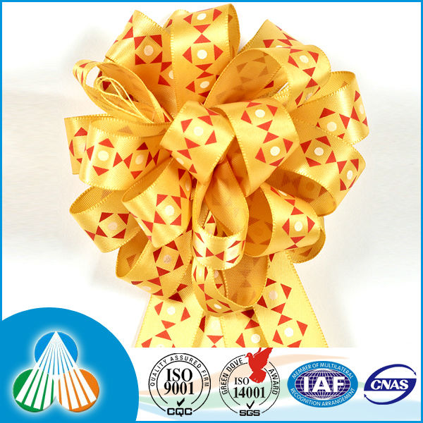 handmade ribbon flowers decoration ribbons to tie on gifts
