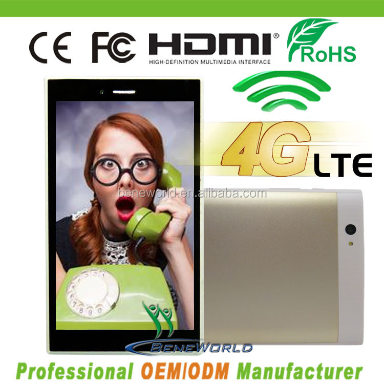 4G tablet pc FDD LTE 3G WCDMA ips 1920*1200p quad core with android 4.4 O.S.