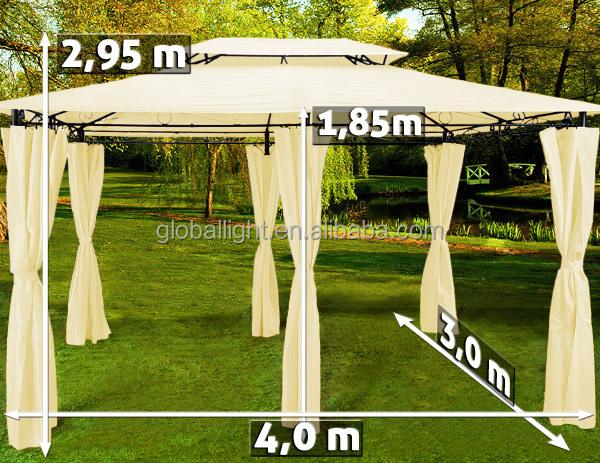 4x3 beige pavilion awning metal gazebo tent buy gazebo tent awning metal gazebo tent 4x3 beige. Black Bedroom Furniture Sets. Home Design Ideas