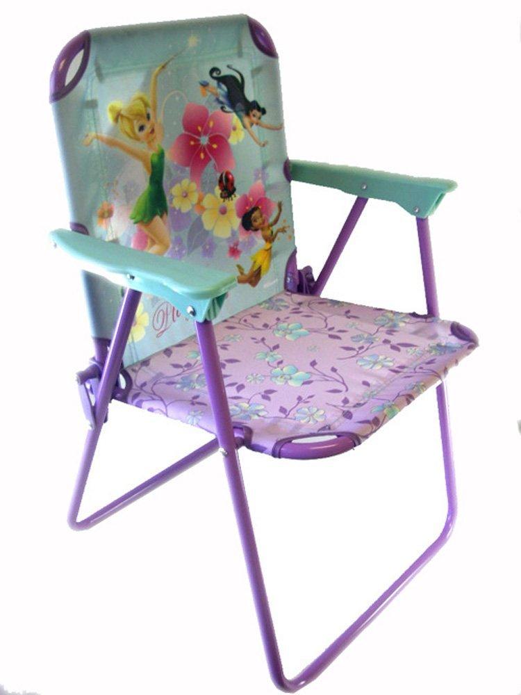 Get Quotations · Disney Tinkerbell Flexible Metal Patio Chair   Tinkerbell  Kids Patio Chair   Tinkerbell Kids Chair