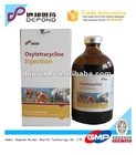 Antibiotique oxytétracycline hcl injection 10% - 30%