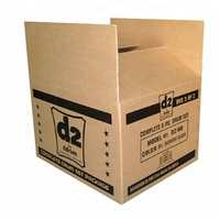 Kraft recycled corrugated carton box specification with strong quality