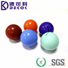 OEM Customized Color 16mm 20mm 25mm 30mm 40mm Solid Silicone Rubber Ball
