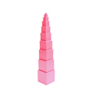 Tiger Montessori Beechwood Pink Tower Educational Toys for Kids