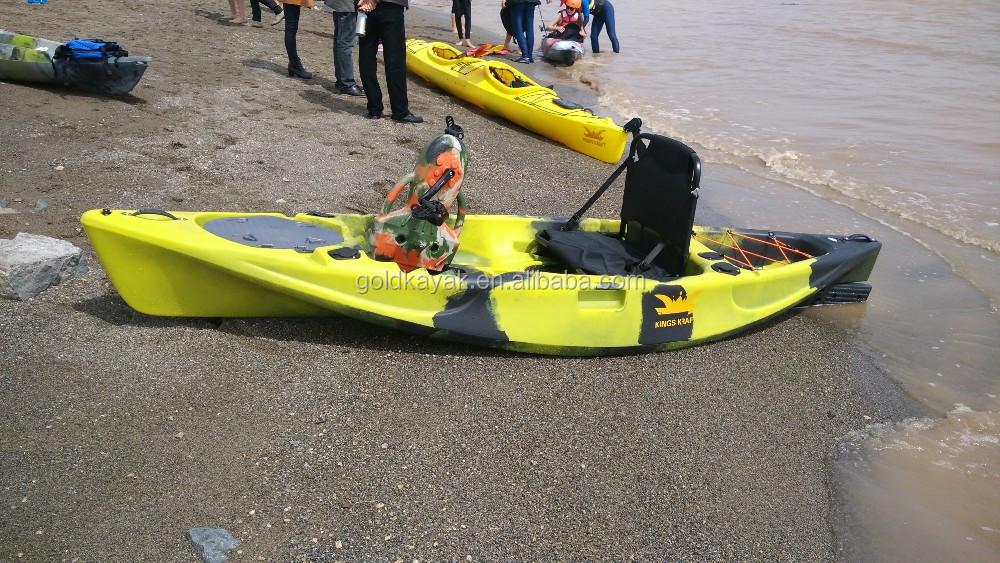 Pedal Drive Kayak Plastic Fishing Kayak With Drive System