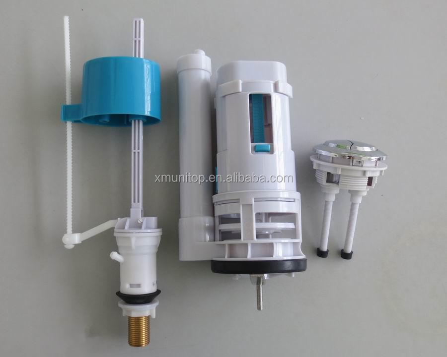 Types Toilet Flushing Mechanisms Water Tank Flush Valve