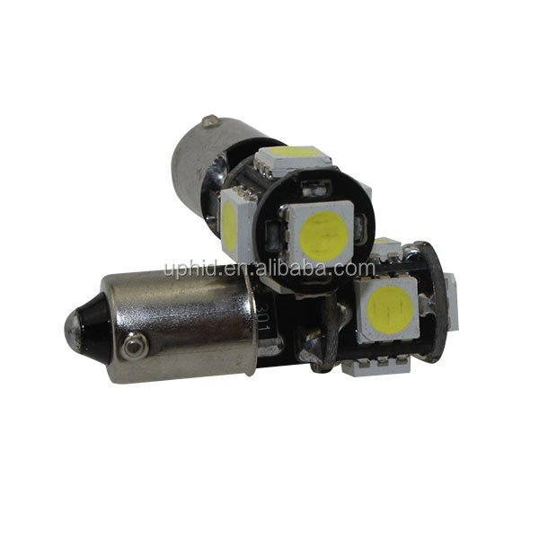 Factory wholesale ba9s 5smd 5050 canbus led auto bulbs with 2 years warranty CE RHOS