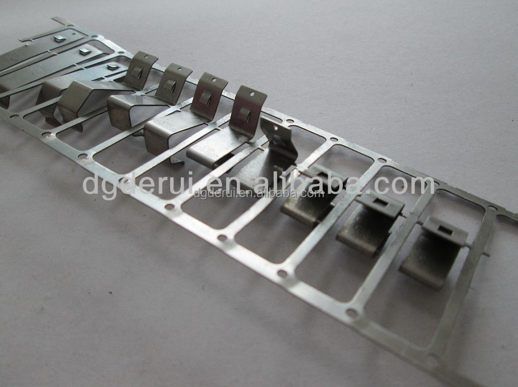 flat spring steel clips stamped metal sheet spring clips comart Mu metal price stainless steel spring clip