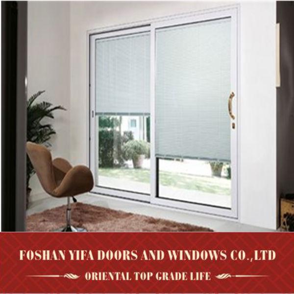 chorro de arena de alta calidad de cristal balcn puertas correderas interiores de aluminio separador de