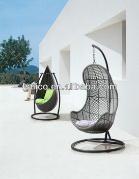 Rattan Swing chair Patio swing hanging chair