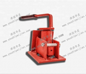 Semi automatic flatbed trailer container twist lock for sale