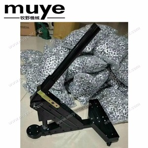 Manual eyelet puncher for metal eyelets and grommets ad banner making tools machine model MF1201-A