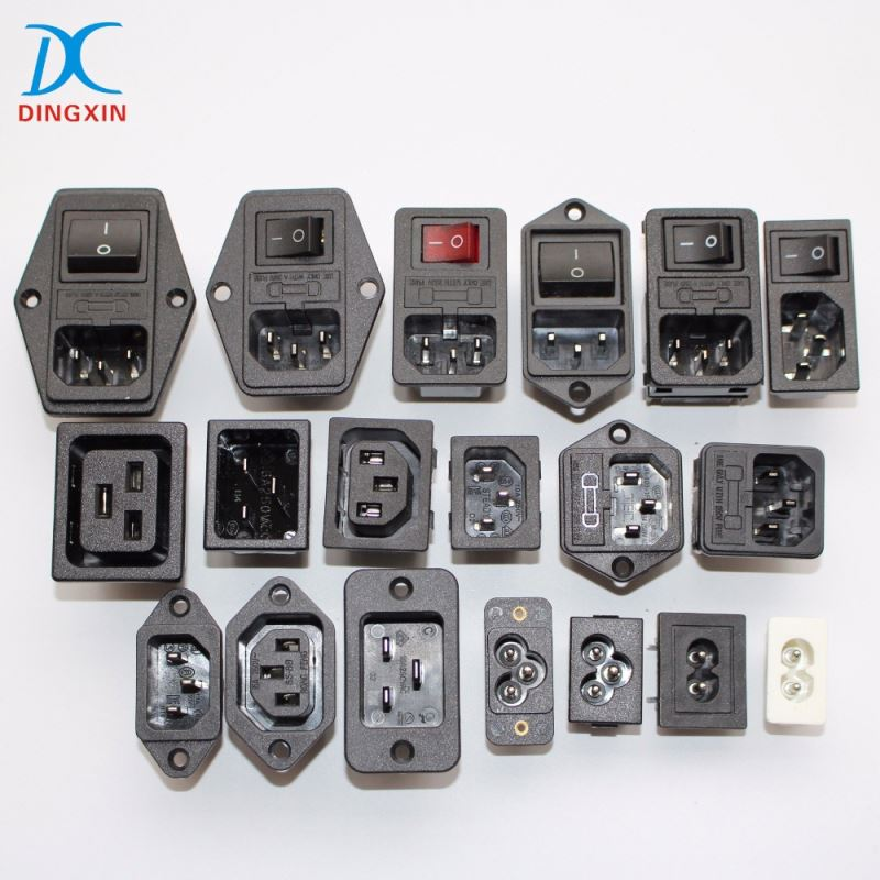 UL VDE Approval AC Power Connectors 1301470141