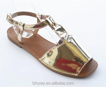 7cf5fea90 2018 Fashion style Latest designed ladies flat slipper sandal wholesale women  shoes sandals
