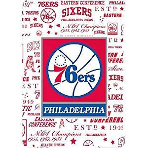 NBA Philadelphia 76ers iPad Air Lite Case - Philadelphia 76ers Historic Blast Lite Case For Your iPad Air
