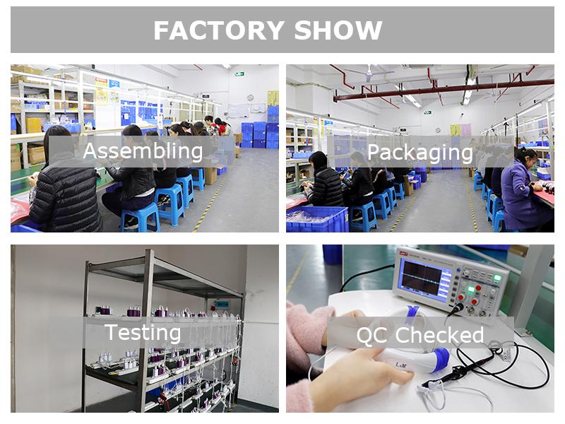 工場供給インテリジェント音声電子加熱されたパルスバックネックマッサージ