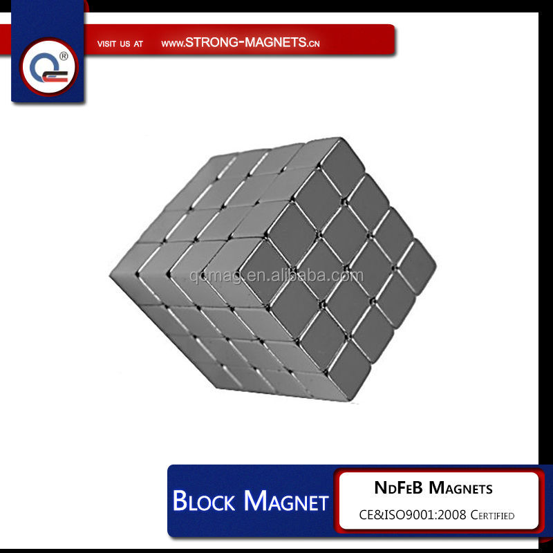 "64 1/4"" CUBE MAGNETS N42 Neodymium rare earth + bag + magnetic"