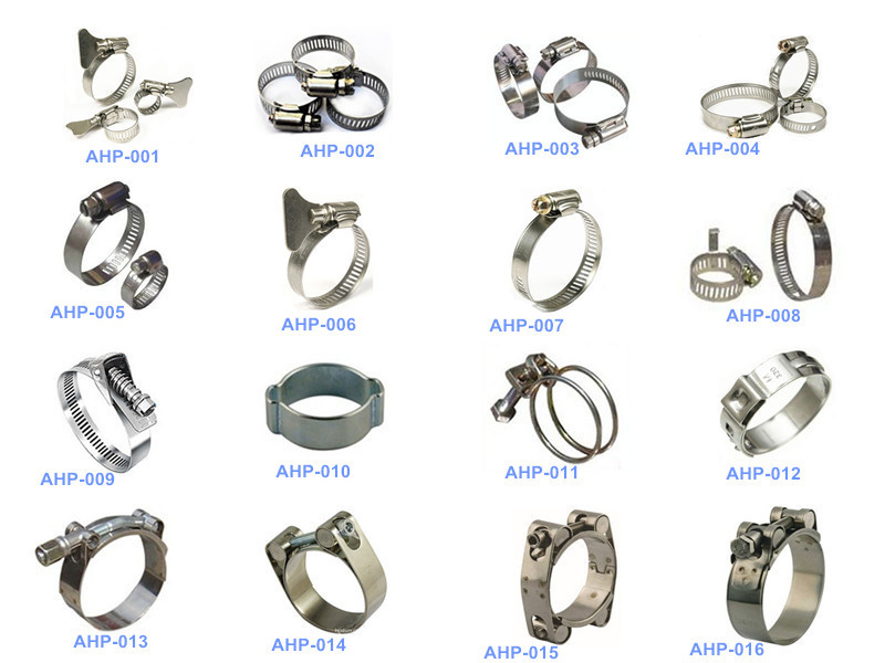 Types of clamps pictures to pin on pinterest pinsdaddy for Kinds of pipes