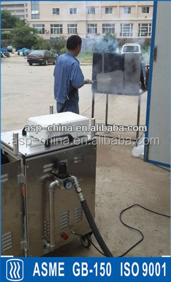 dry and clean flake ice machine for food processing