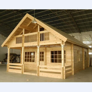 Quickly assembly prefab wooden house