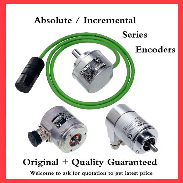 Siemens series rotary encoders incremetal absolute encoder for Encoder for motor control
