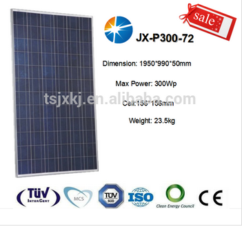 300w polycrystalline PV sola panel with lower price